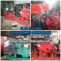 Pompa diesel hydrant pump 500 gpm 750 gpm 1000 gpm