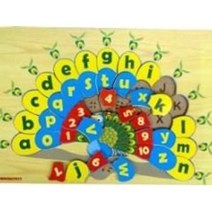 Puzzle Angka Dan Huruf Merak