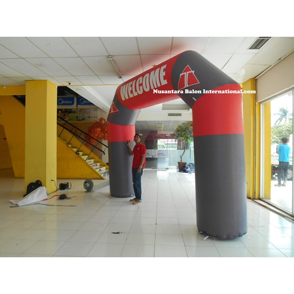 Balon Promosi Model Gapura startfinish run