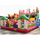 Mainan anak istana balon rumah balon 4