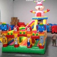 Mainan anak istana balon rumah balon