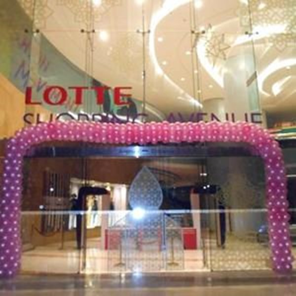 Balon Promosi Model Dekorasi acrylic