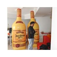 Balon Promosi model botol