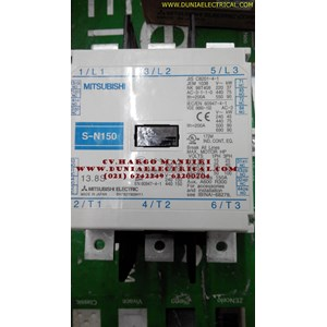 MAGNETIC CONTACTOR  S-N150 MITSUBISHI