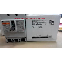 MCCB / Mold Case Circuit Breaker BW 125 JAG Fuji Electric