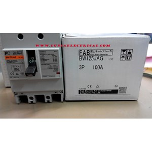 MCCB / Mold Case Circuit Breaker BW 125 JAG Fuji Electric