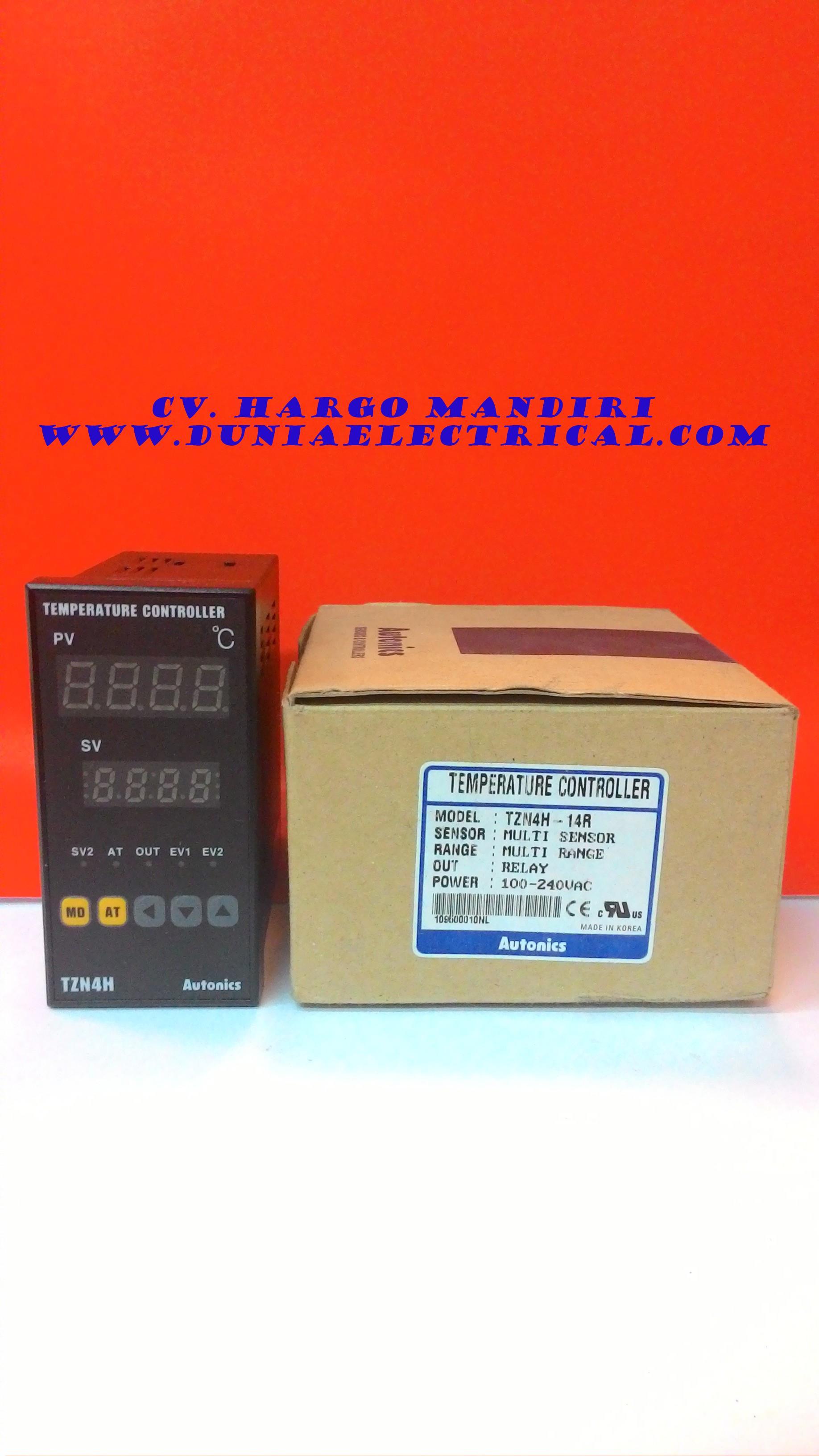 Jual Temperature Controller TZN4H 14R Autonics Harga
