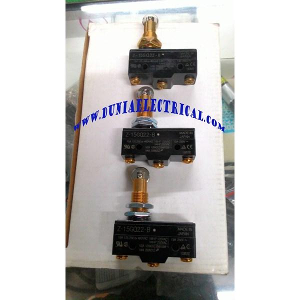 Micro Limit Switch Omron / Jual Micro Switch Omron  Z-15GQ21-B
