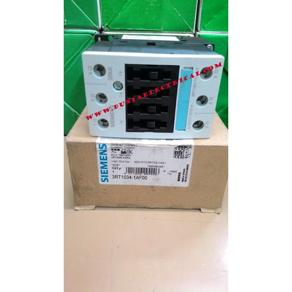 Magnetic Contactor AC Siemens 3RT1034- 1AF00