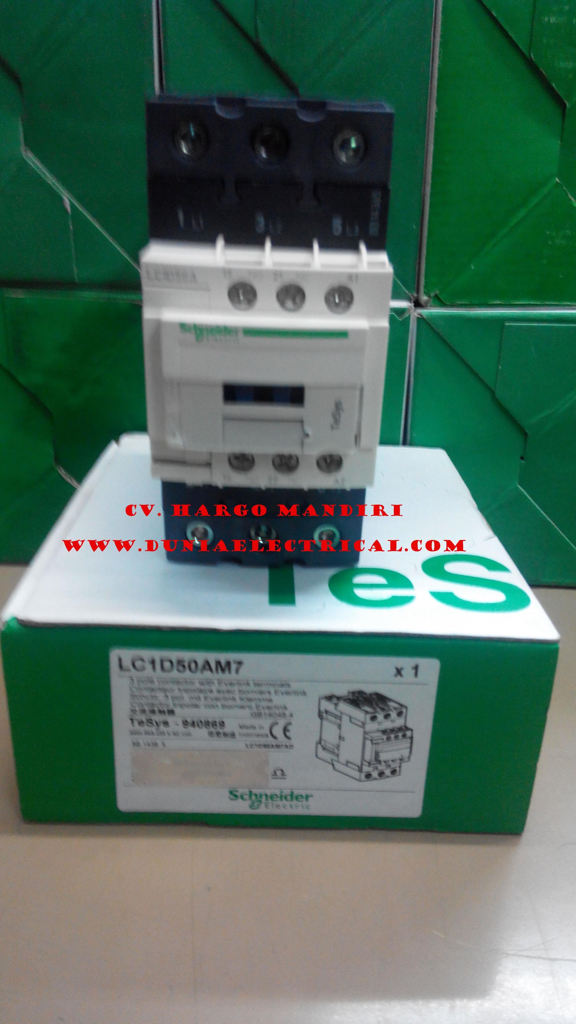Jual Contactor LC1D50AM7 Schneider 220v Harga Murah