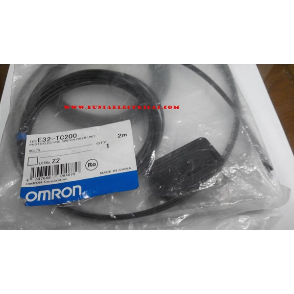 Omron Photoelectric Switch Fiber Unit E32- TC200