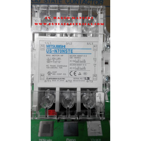 SOLID STATE CONTACTOR US-N70NSTE MITSUBISHI