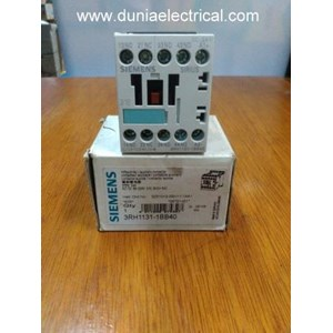 From SIEMENS DC CONTACTOR 3RH1131-1BB40 0