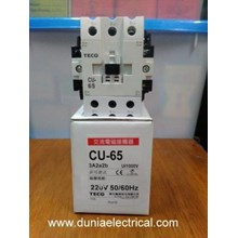 AC Contactor Teco / Magnetic Contactor Teco CU-65