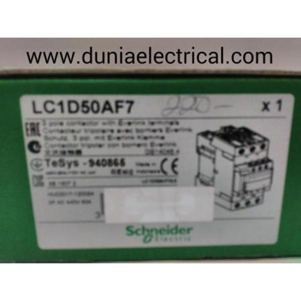 CONTACTOR LC1D50AF7 SCHNEIDER