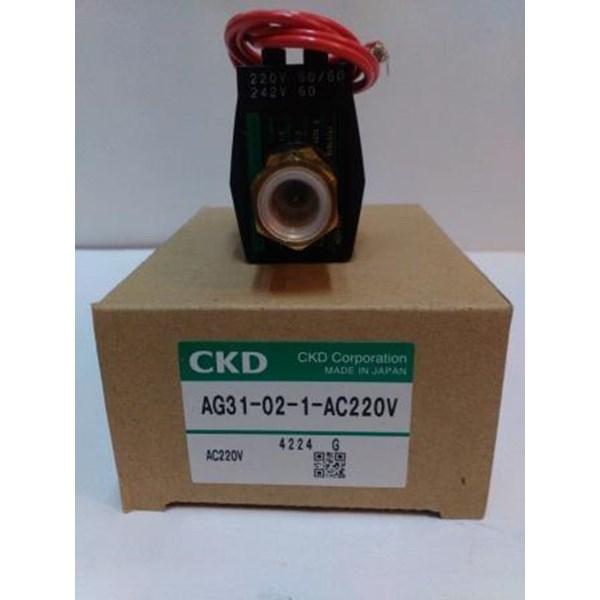 CKD Solenoid Valve AG31-02- 1