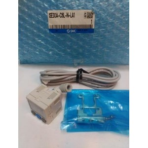 Digital Pressure Switch ISE30A-C6L-N-LAI SMC Silinder
