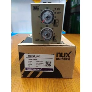 Electric Timer Counter Twin Timer Hanyoung TF62NE-60D