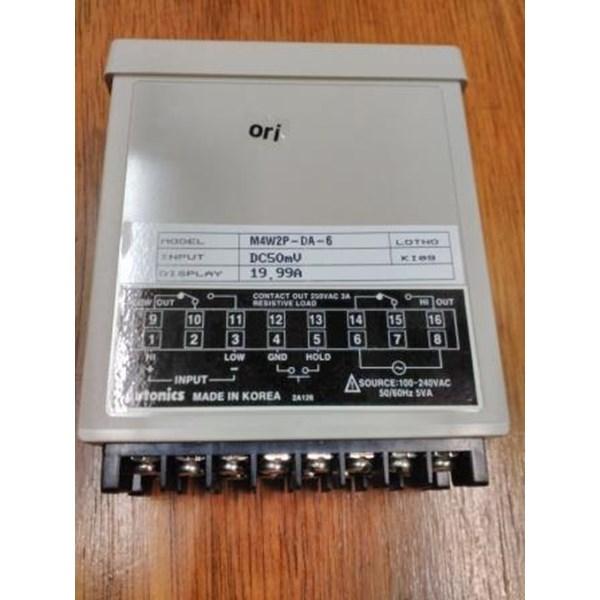 Panel Meter Autonics / Panel Meter M4W2P-DA-6 Autonics