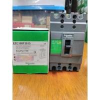MCCB / Mold Case Circuit Breaker  EZC100F3015 Schneider