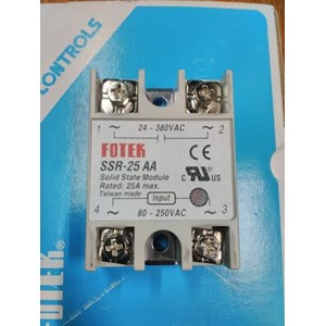 Sell Solid State Relay SSR25 AA VA Fotek From Indonesia By Hargo - Solid State Relay Brands