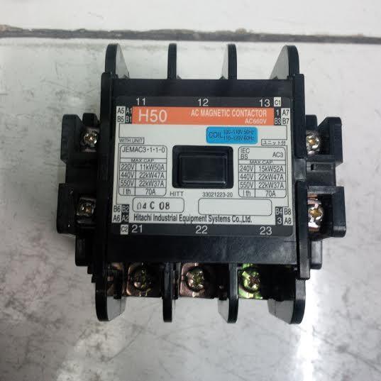 Jual Magnetic Contactor H50 Hitachi Harga Murah Jakarta