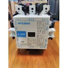 Mitsubishi Magnetic Contactor S-N95 Relay dan Kont