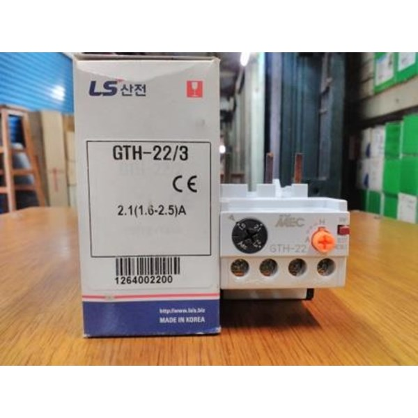 Thermal Overload Relay MT-63 3H LS