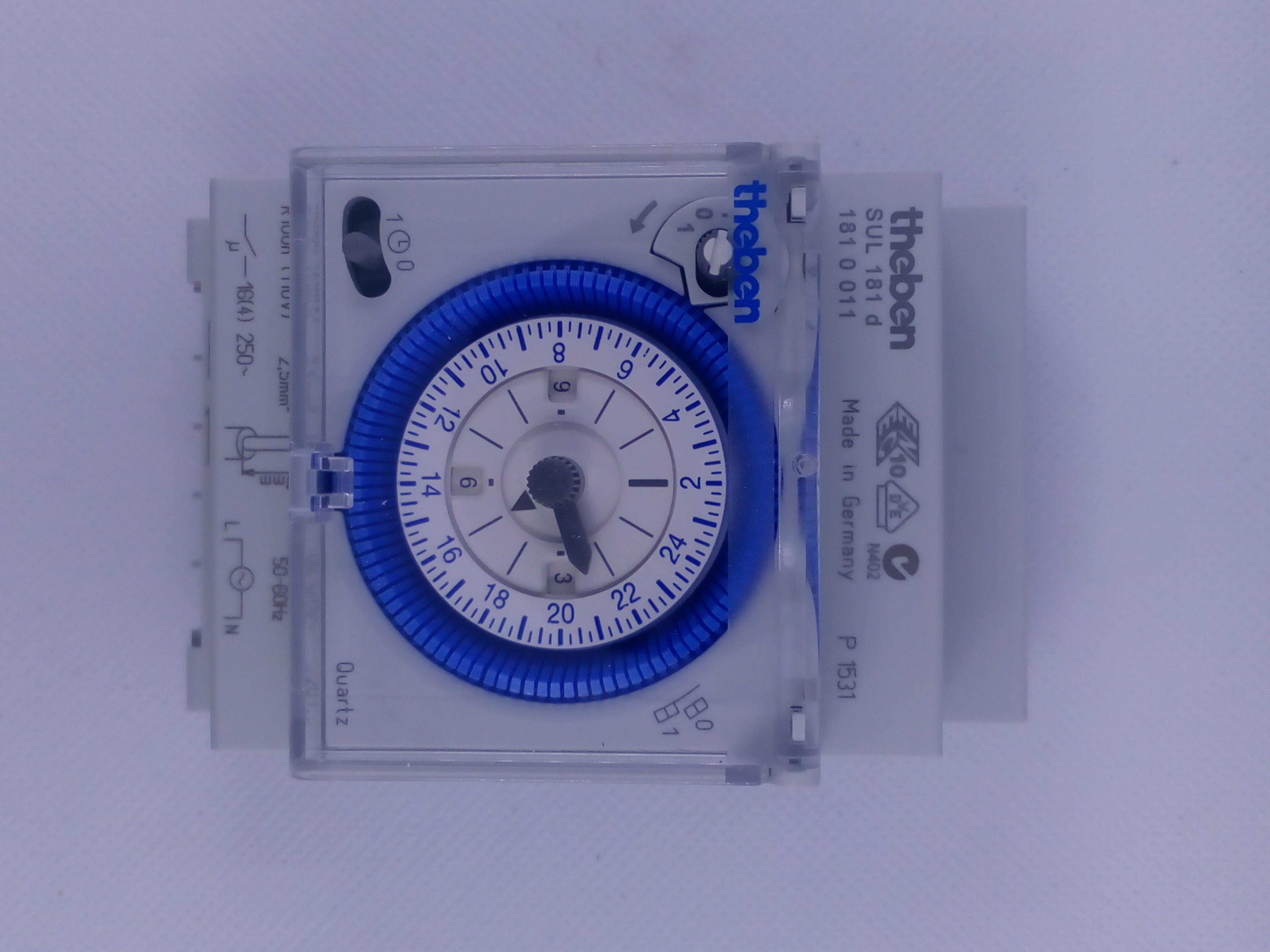 Jual Analog Time Switch Theben Sul 181 D Harga Murah