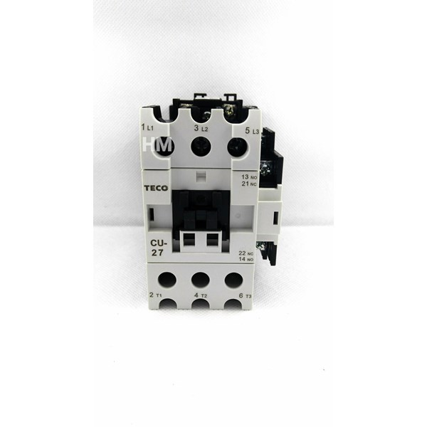 AC Contactor Teco / Magnetic Contactor CU-27 220V Teco