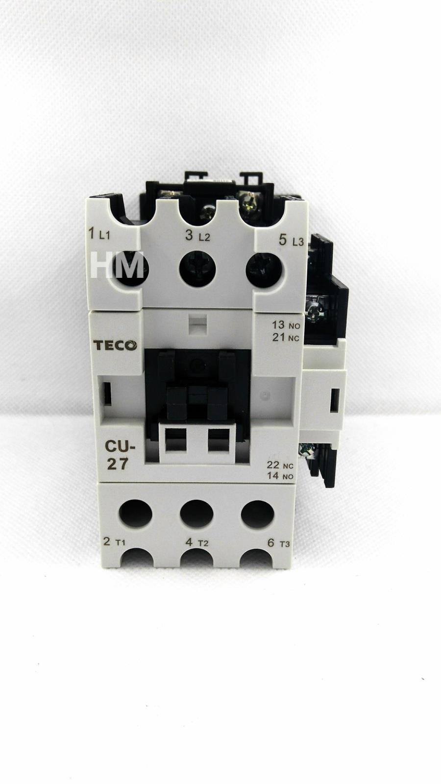 Jual AC Contactor Magnetic Contactor CU 27 Teco 220V