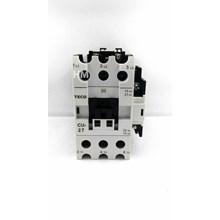 AC Contactor Teco /  Magnetic Contactor CU- 27 Teco 220V