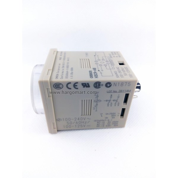 Analog Time Switch  H3CR-A8 220V OMRON