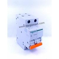 MCB / Miniature Circuit Breaker Schneider / MCB 2 Phase 2 A Schneider Electric