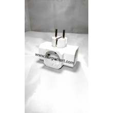 Steker T  3 Lubang Broco