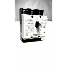 MCCB / Mold Case Circuit Breaker Mitsubishi MCCB NF30-CS 3P 30A Mitsubishi