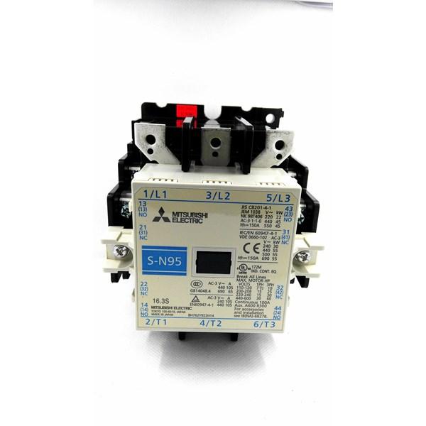 MAGNETIC CONTACTOR AC  S-N95 MITSUBISHI