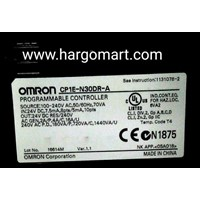 Jual  Programmable Logic Controllers CP1E- N30DR- A omron 2