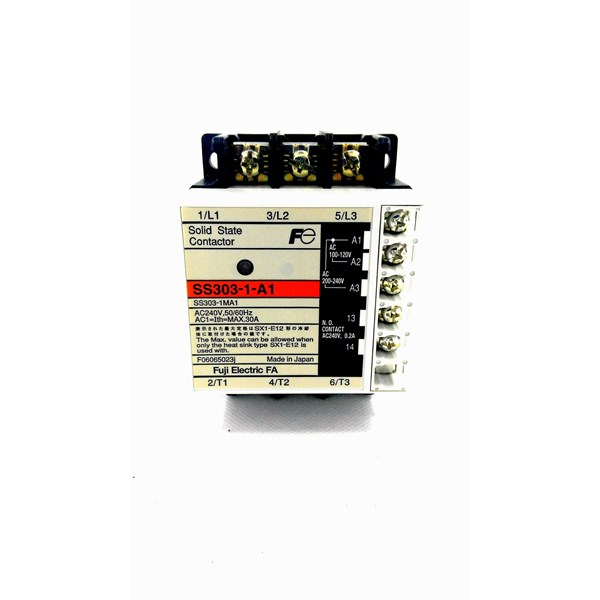 SOLID STATE CONTACTOR SS- 303- 1- A1 FUJI