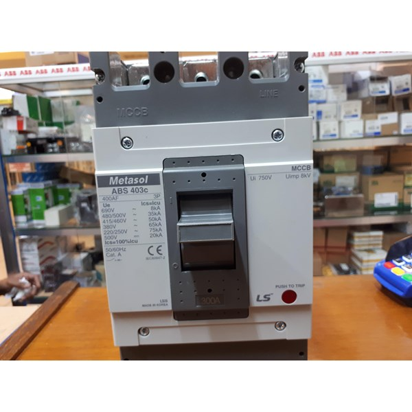 Mold Case Circuit Breaker LS ABS  403c 300A