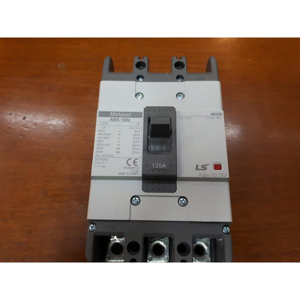 Mold Case Circuit Breaker /  MCCB ABS 103c 125A LS