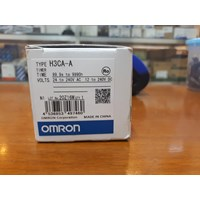 Jual Digital Timer Omron / Timer Omron H3CA A  2