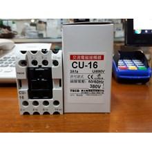 AC Contactor MAGNETIC CONTACTOR CU 16 380V TECO