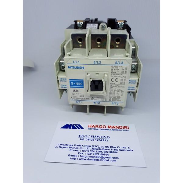 Relay dan Kontaktor Listrik Mitsubishi S-N50