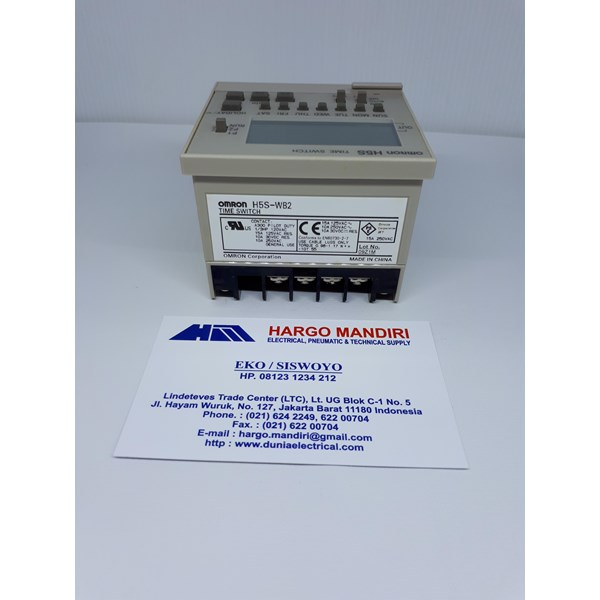 Digital Timer Switches H5S- WBA Omron
