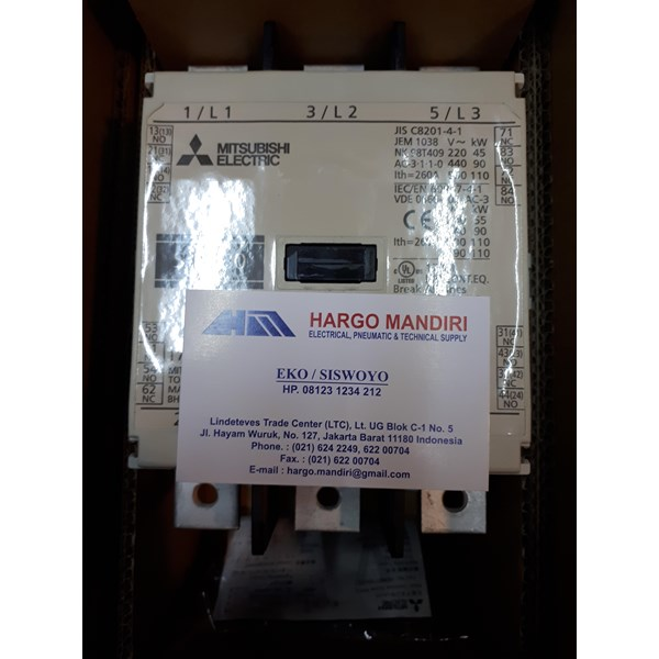 MAGNETIC CONTACTOR S N180 MITSUBISHI