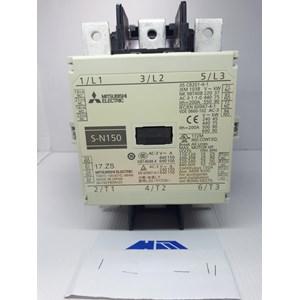 AC Contactor Mitsubishi / MAGNETIC CONTACTOR S N-150 220V MITSUBISHI