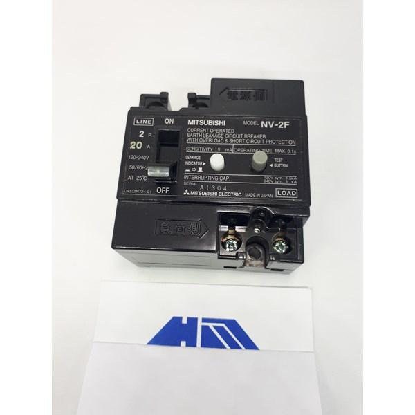ELCB / Earth Leakage Circuit Breaker NV 2F Mitsubishi