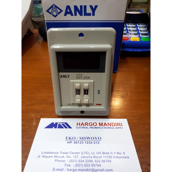 Electrical Timer Switches Anly / Digital Timer ASY-2DA 220V Anly