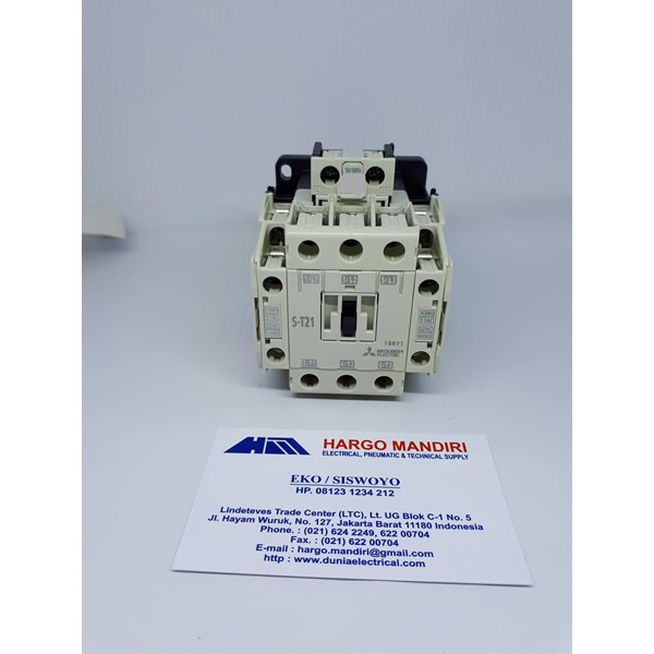 Magnetic Contactor AC S-T21 110V Mitsubishi